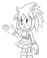 Delia the hedgehog by Zack113