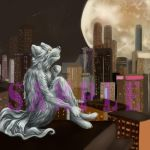 Ych \ commission result {Urban Moon} by mdwines