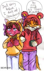 Teddy and Amber 2 by BEAR2041