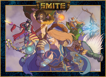 Unfinished - Smite Art : Launch Contest by Monow