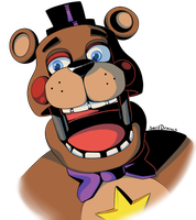 Rockstar Freddy by SerifDraws