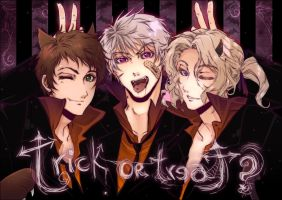 Bad HALLOWEEN Trio by tatouji