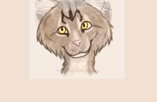 Nicholas maine coon anthro wip by Vivid-Red