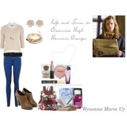 LTOH Hermione Outfit #1 by MariposaLass-93