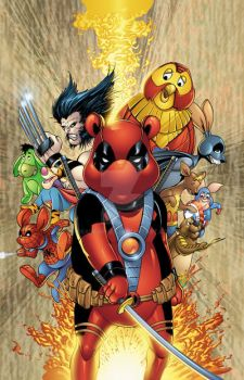 Do You Pooh Civil War cover colors by seanforney