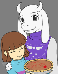 Undertale - Mother's Day by Twardz