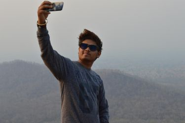 selfie boy by srinivascreations