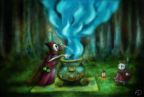 The Magician by zoraor