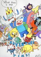 Adventure Time!!!! by johnnyism