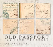 old passport - icon textures by mellowmint