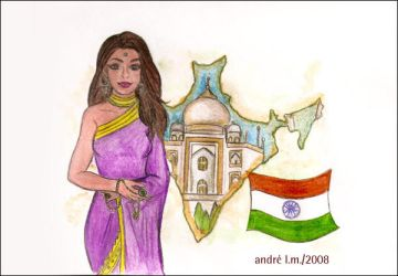 Countries - India by duskyrainbow