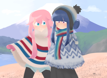 yuru camp by star-asterism