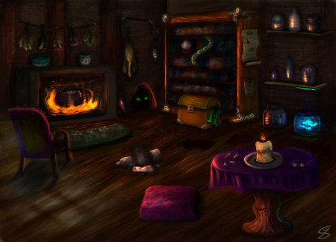 Wizard's house by sophie-sz