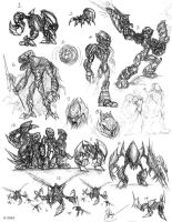 BIONICLE Concepts-2 by Wacom-Bot