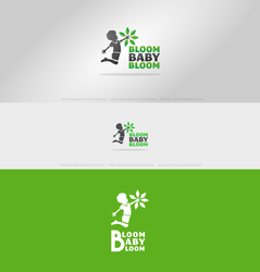 Bloom Baby Logo by DianaGyms