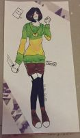 I am going to die with a chara body pillow by JasminTheSinnerx3