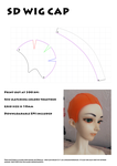 Four Part Wig Cap for SD (No Glue) by BloodyKylie