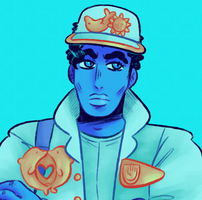 Day 22- Jotaro by KatsLoveSalmon