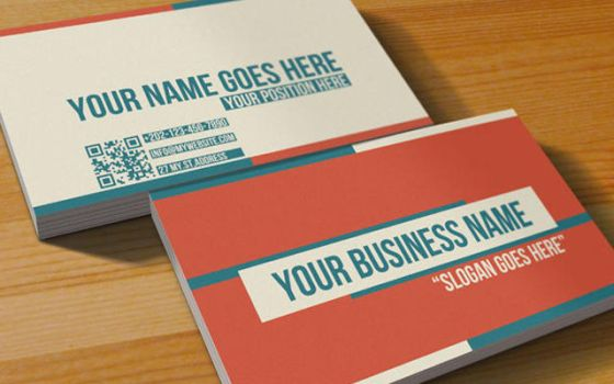 Multipurpose Retro Business Card by mmounirf