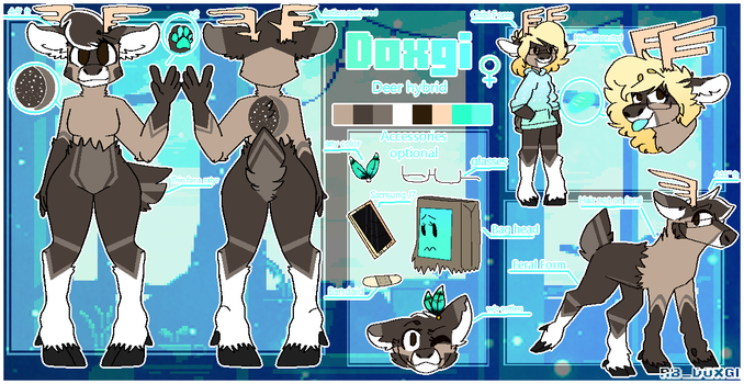 Doxgi ref 2018 [Fursona] by An0n-moose