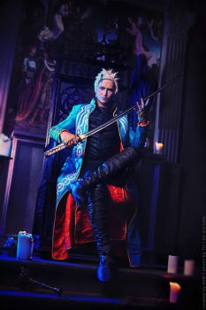 Vergil: This is the Power of Sparda by Aoki-Lifestream