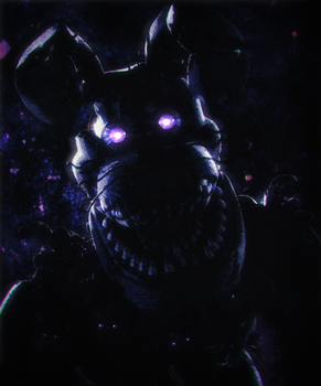 [Cinema4D FNaF4] Nightmare Bonnie by xGigaSlavex