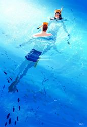 Just a nice relaxing swim. by PascalCampion