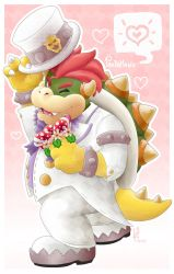 Bowser felice - Super Mario Odyssey by PandaManu