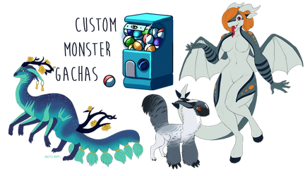 Custom Monster/Creature Gachas [CLOSED] by owlette-adopts