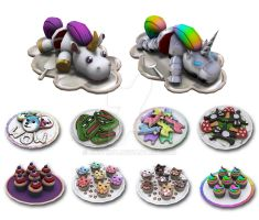 Derp Desserts by bugtrot