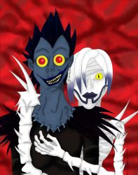 Ryuk and Rem by XoLilSquirtoX