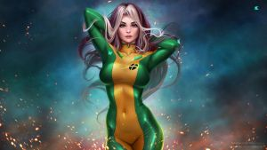 Rogue wallpaper by Prywinko