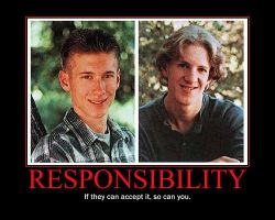 Responsibility Motivational Poster by QuantumInnovator