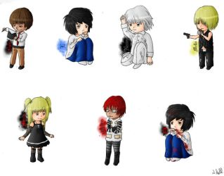 Death Note Chibis by 331060