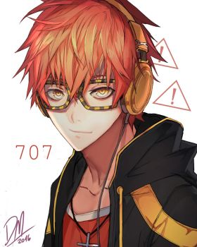 707 (mystic messenger) by Shikaama