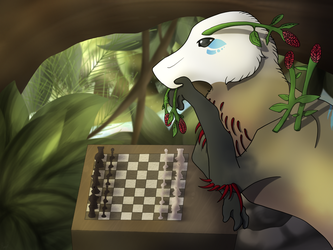 Gaining Logic Skill - Art Trade by RolePlayGalPaw