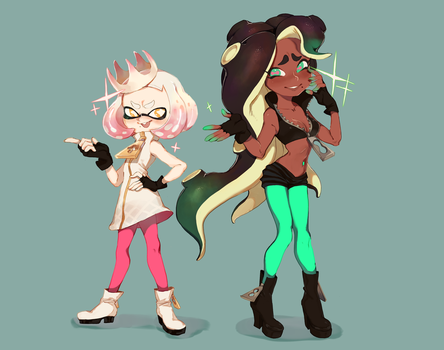 Pearl and Marina by ZAMBllE