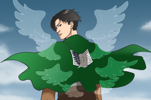 Levi- Attack on Titan by MidnightZone