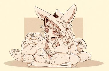 Nanachi and Mitty by InkyTophat