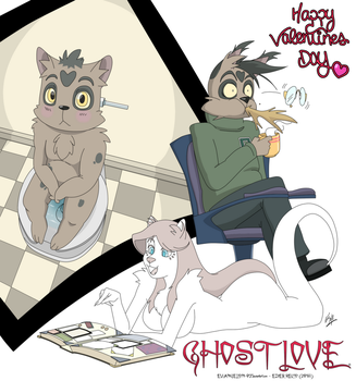 GHOST LOVE - HAPPY VALENTINES DAY by EVANGELION-02