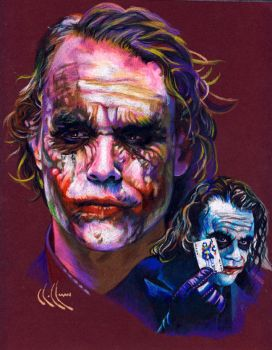 the Joker by choffman36