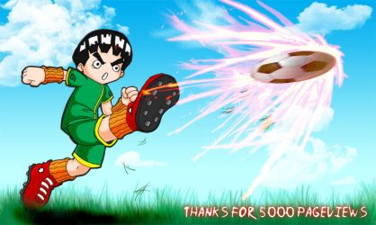 Sport Festival - Rock Lee by Vejit