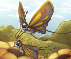 Beautifly - Pokemon Challenge 1: Bug type
