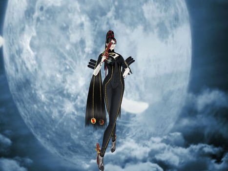 Homage to Bayonetta by DameKlaudia