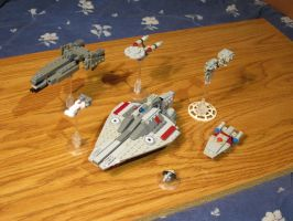 Microscale Fleet update by Taggerung1