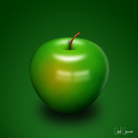 Green Apple by carizzo