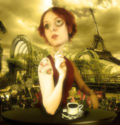 Cafe a Paris by zecaarruda