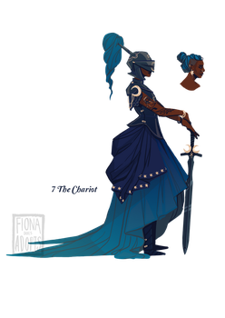 [closed] Adopt - 7 The Chariot by fionadoesadopts
