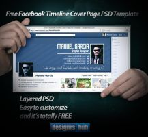 Free Facebook Timeline Cover Page PSD Template by MGraphicDesign