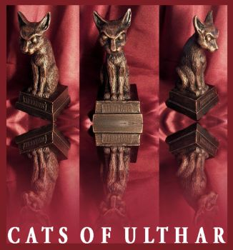 Lovecraft - Cats of Ulthar by zombiequadrille